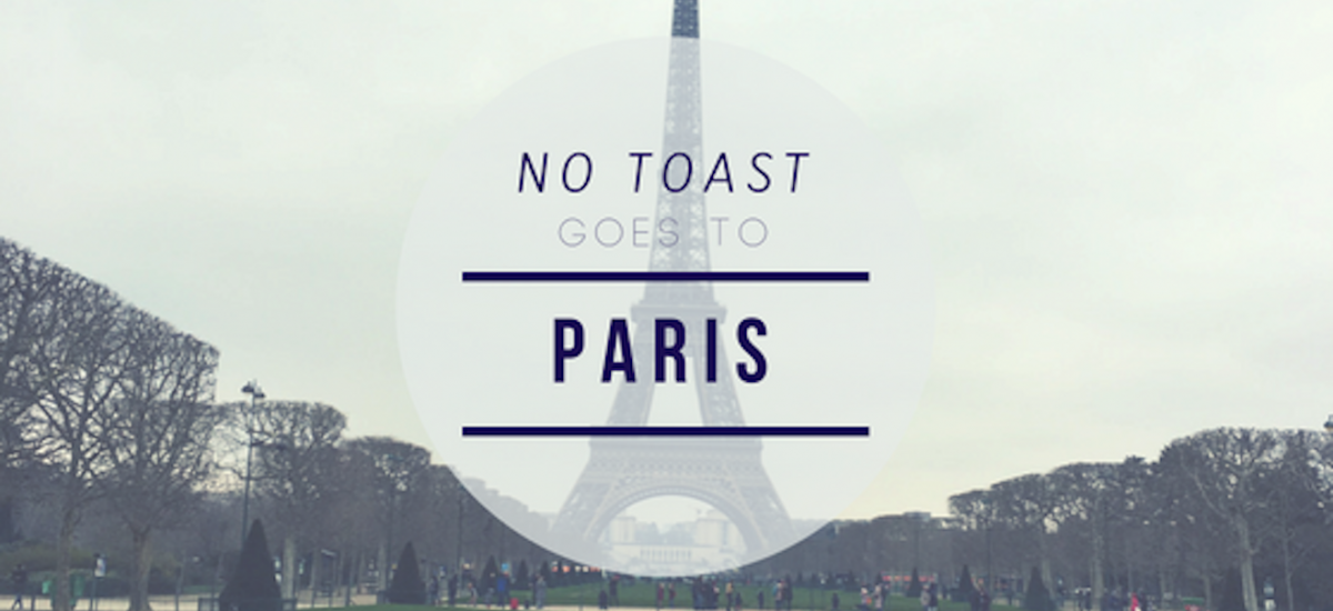 No Toast goes to Paris