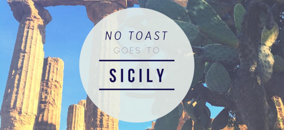 No Toast goes to Sicilia