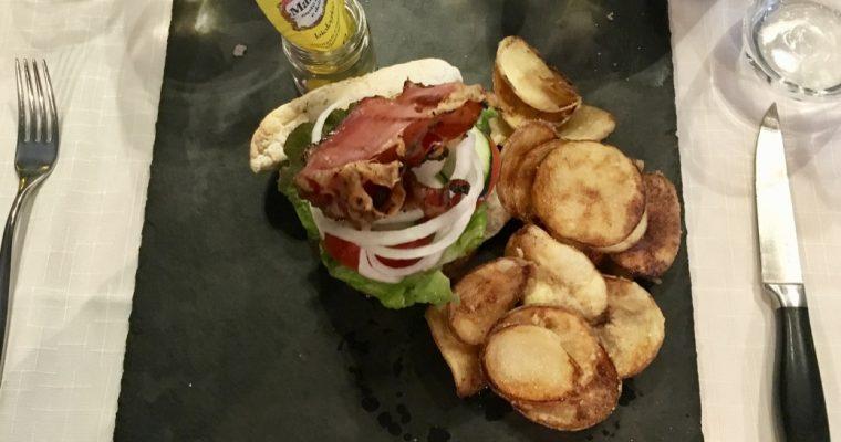 Burger gourmet toscano