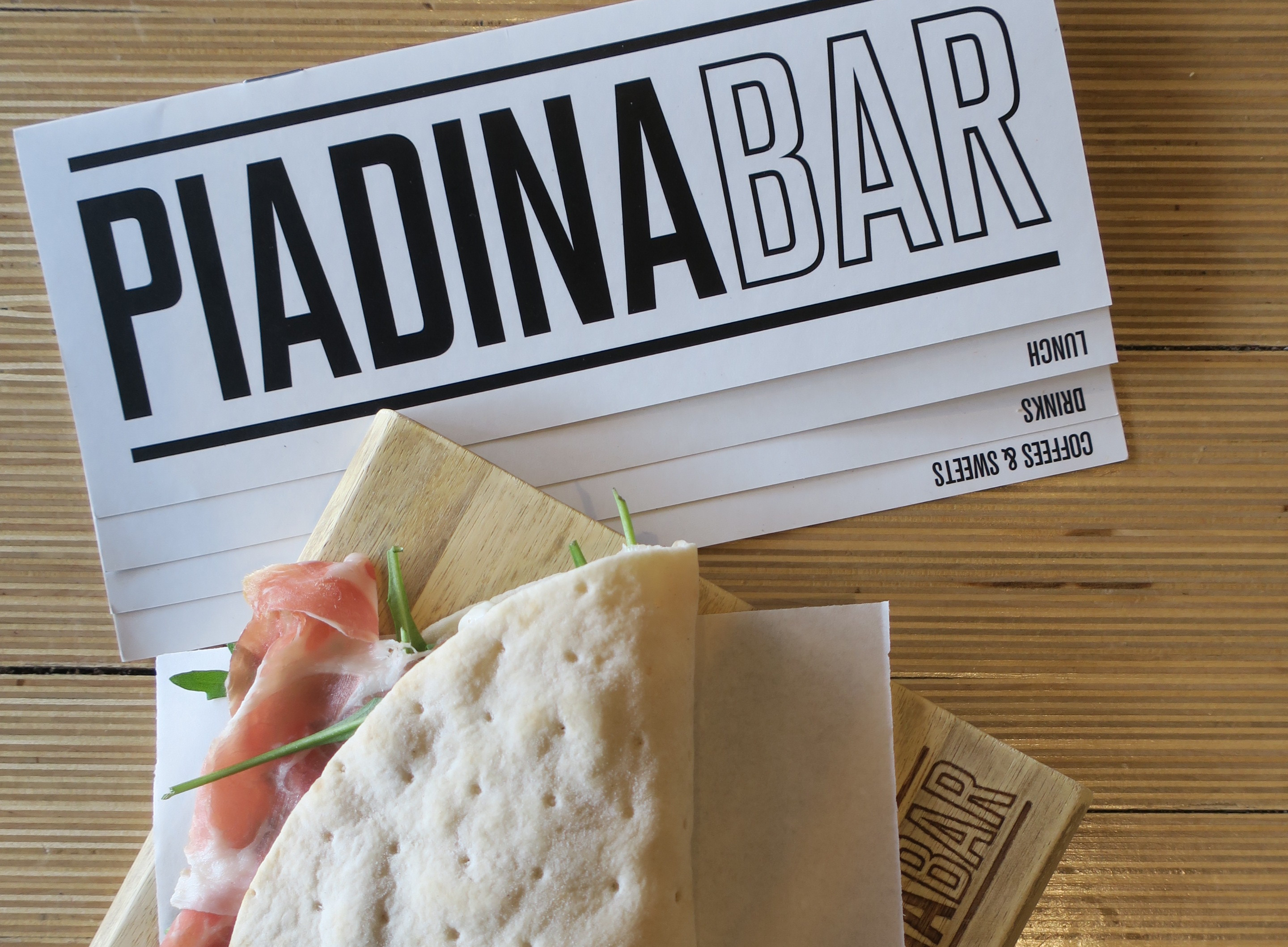 Piadina ad Amsterdam - NO TOAST FOR BREAKFAST