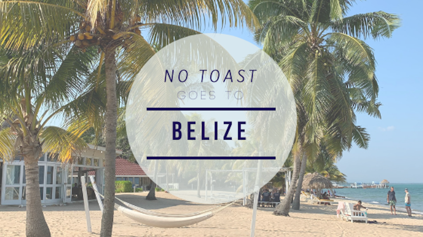 No Toast goes to Belize - NO TOAST FOR BREAKFAST