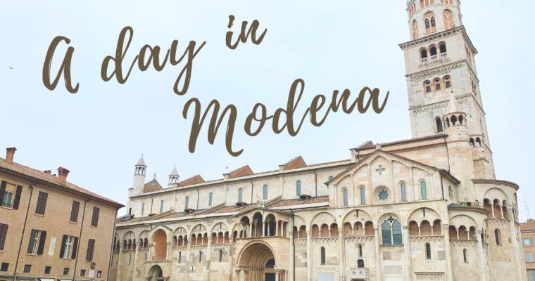 Un giorno a Modena